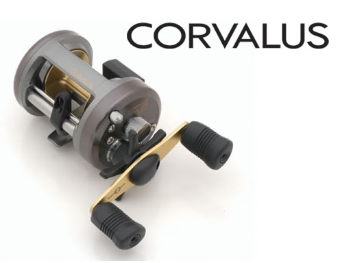 Shimano Corvalus Round Baitcasting Reel